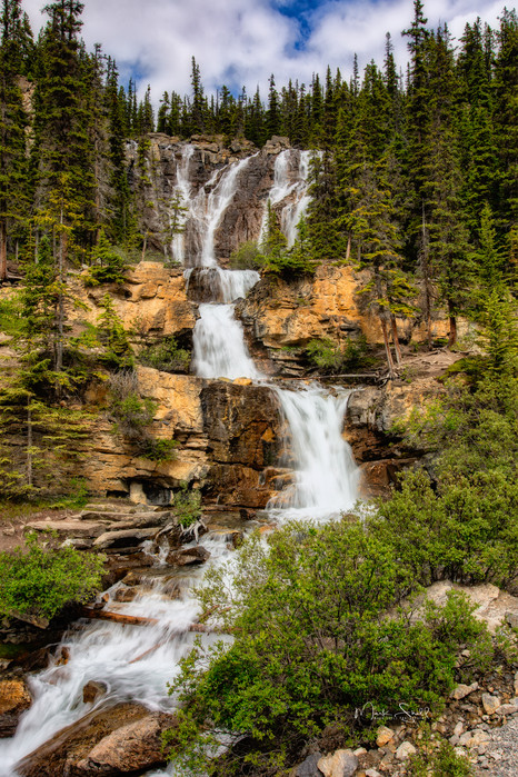 Tangle Falls Icefields