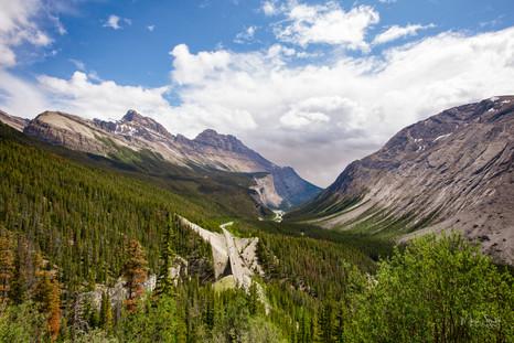 Icefields Parkway Canadian Rockies