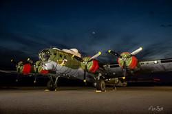Texas Raiders B-17 Flying Fortress N