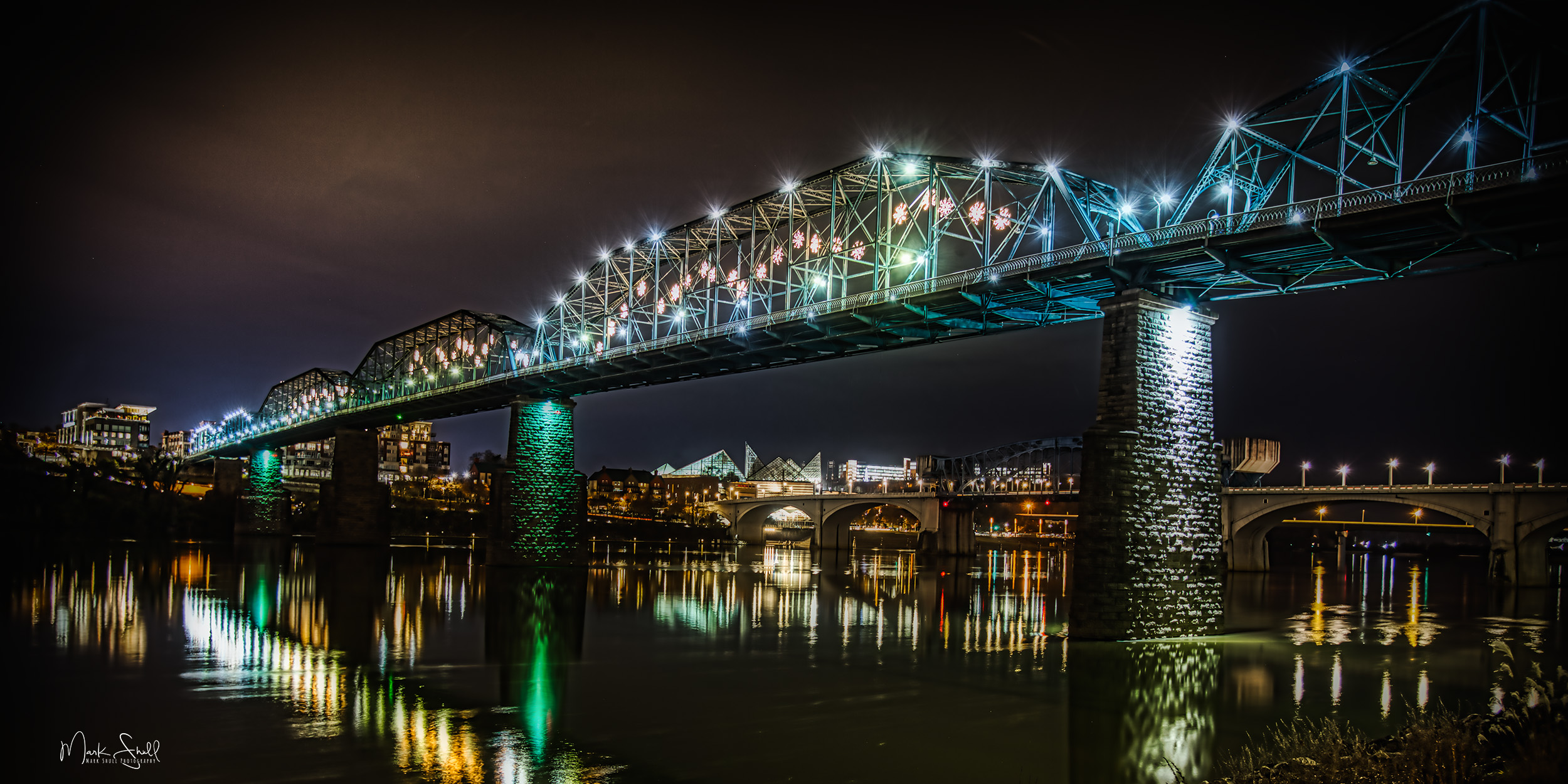 Chattanooga Walnut Street Bridge HDR