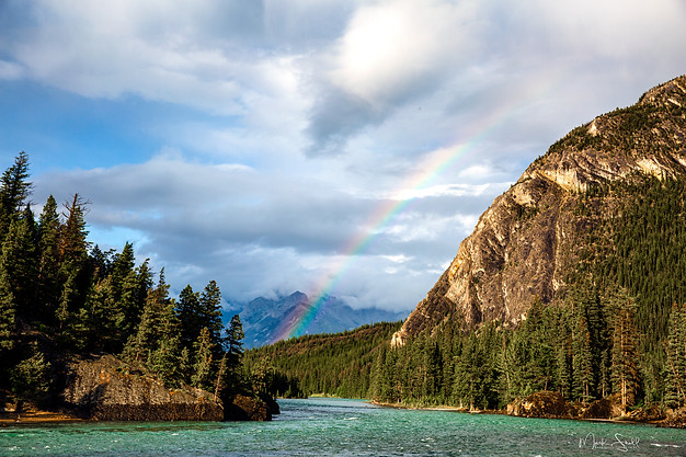 Rainbow on The Bow River BNP