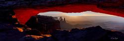 Mesa Arch sunset 1x3