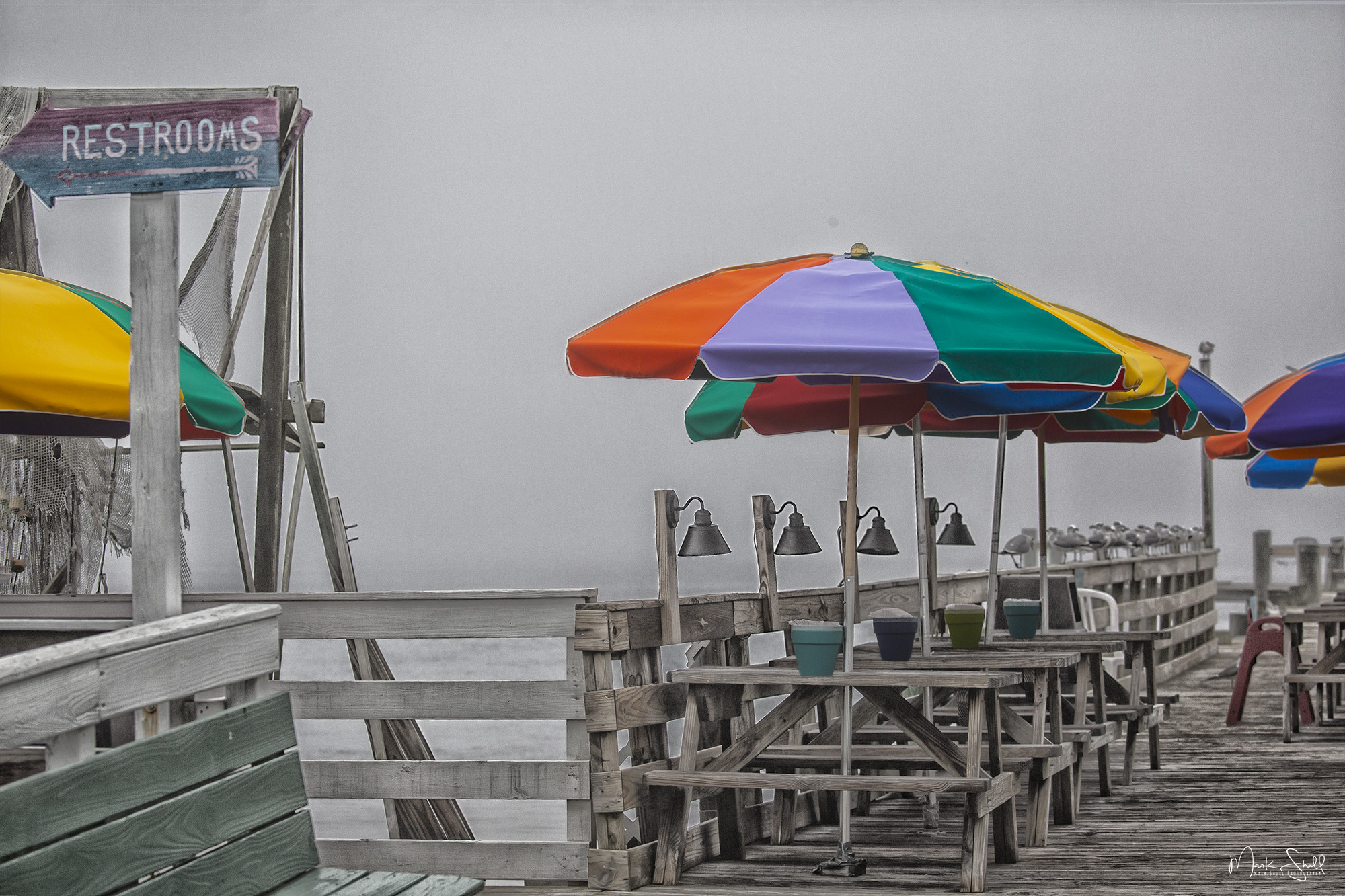 Dewey Destin's Seafood dock
