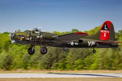 WWII Days B-17 take off