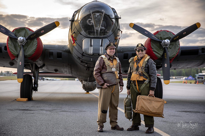 WWII B-17 pilots