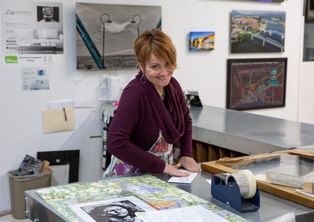 Lesley Lakey Art Warehouse