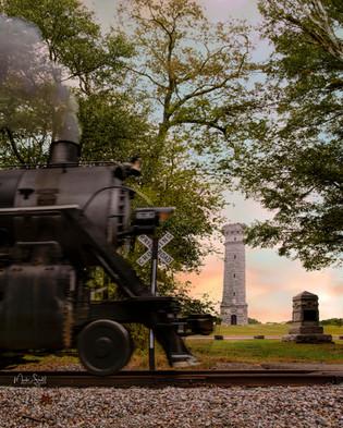Steamer At Chicamauga Battlefield