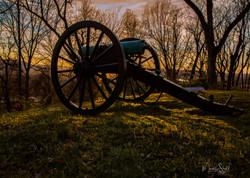 Canon sunset light