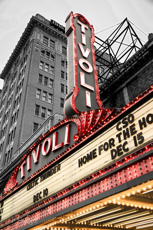 Chattanooga Tivoli clr & bw uprt