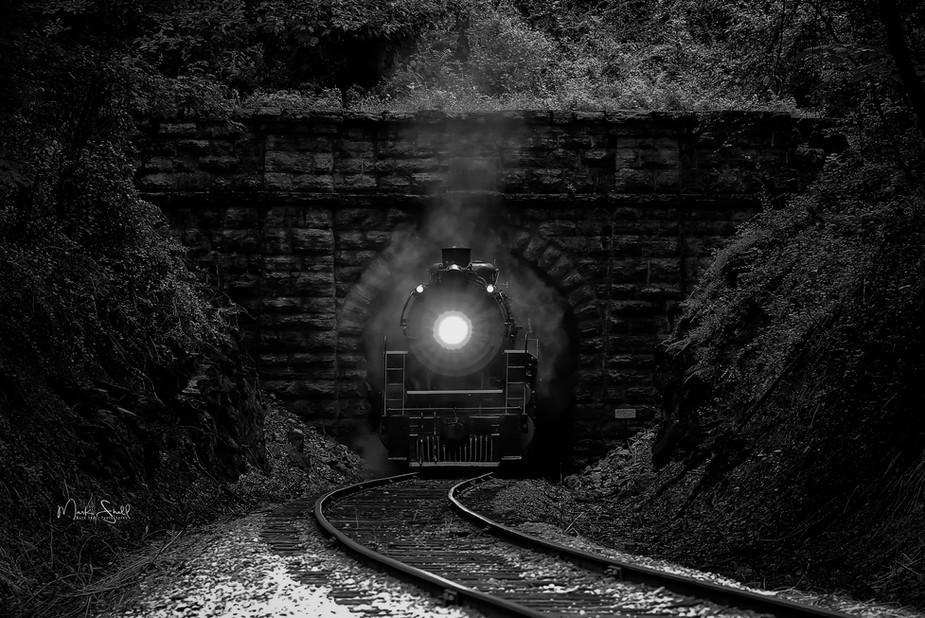 train 4501 Baldwin blt 1911 bw.jpg