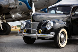 WWII DC 3 and Ford Deluxe