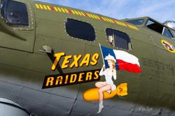 B-17 Texas Raiders logo