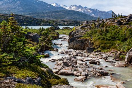 Yukon Pass into Canada