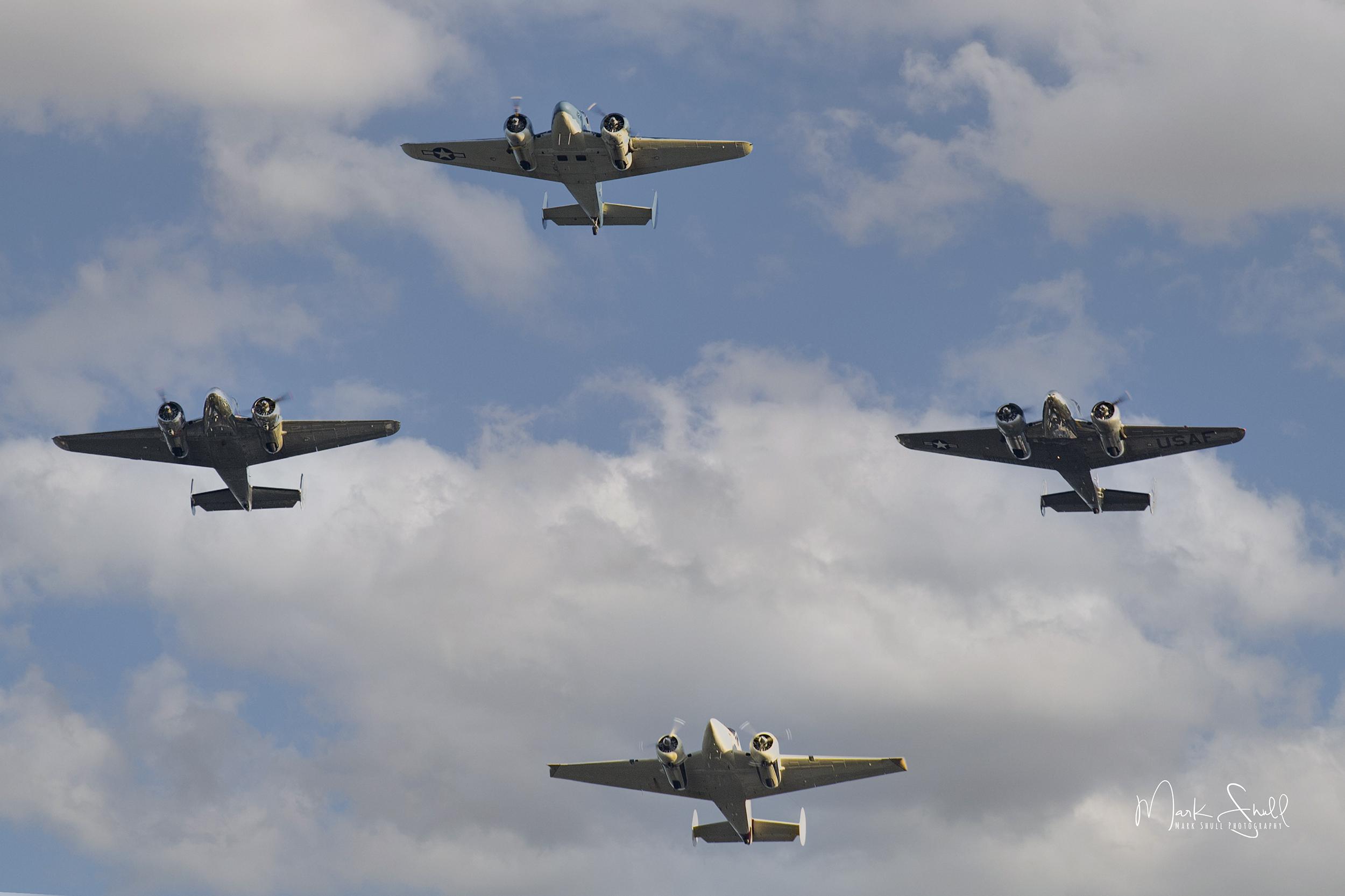 Flight Formation Training