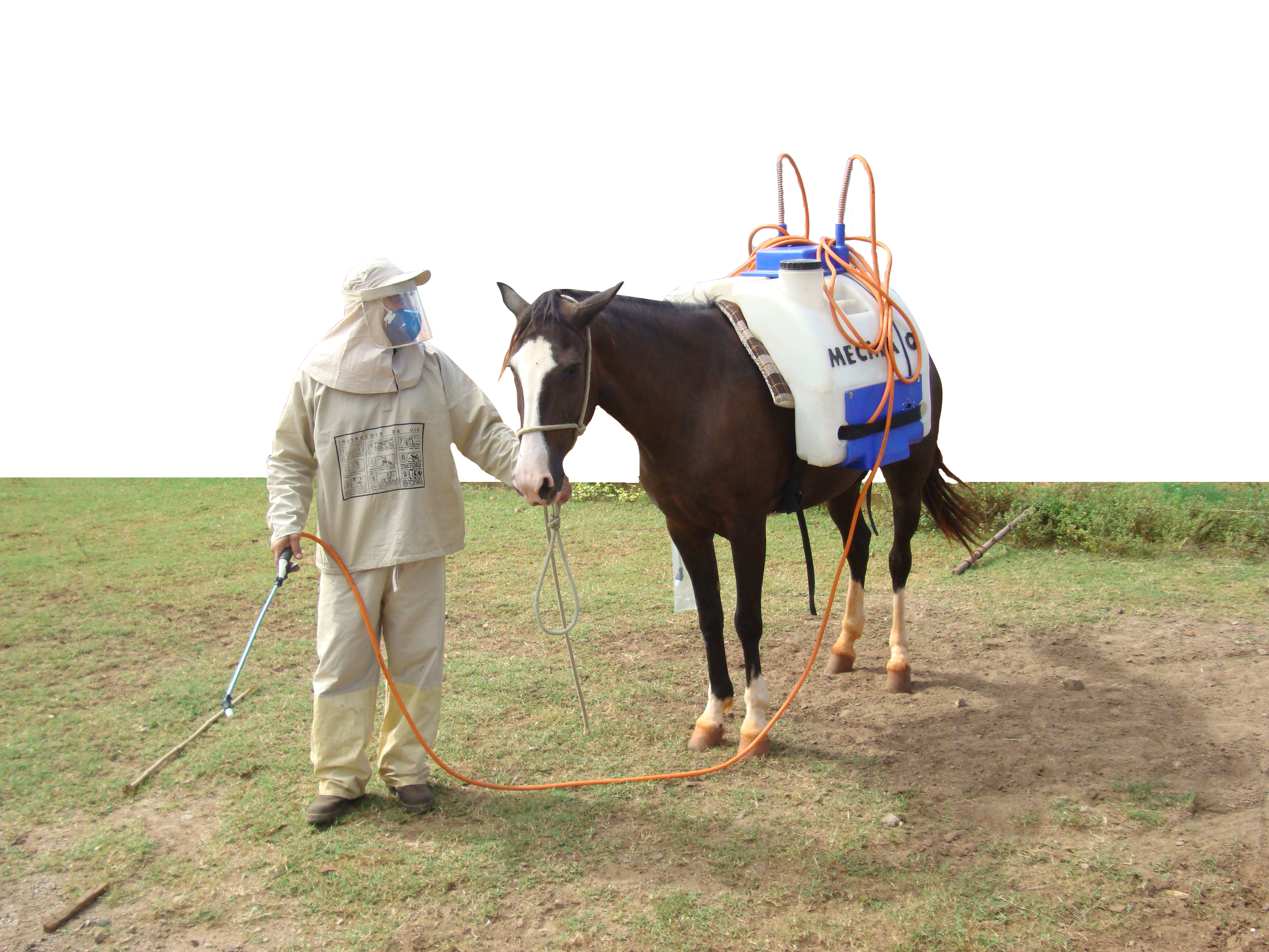 Horse Powered Sprayer