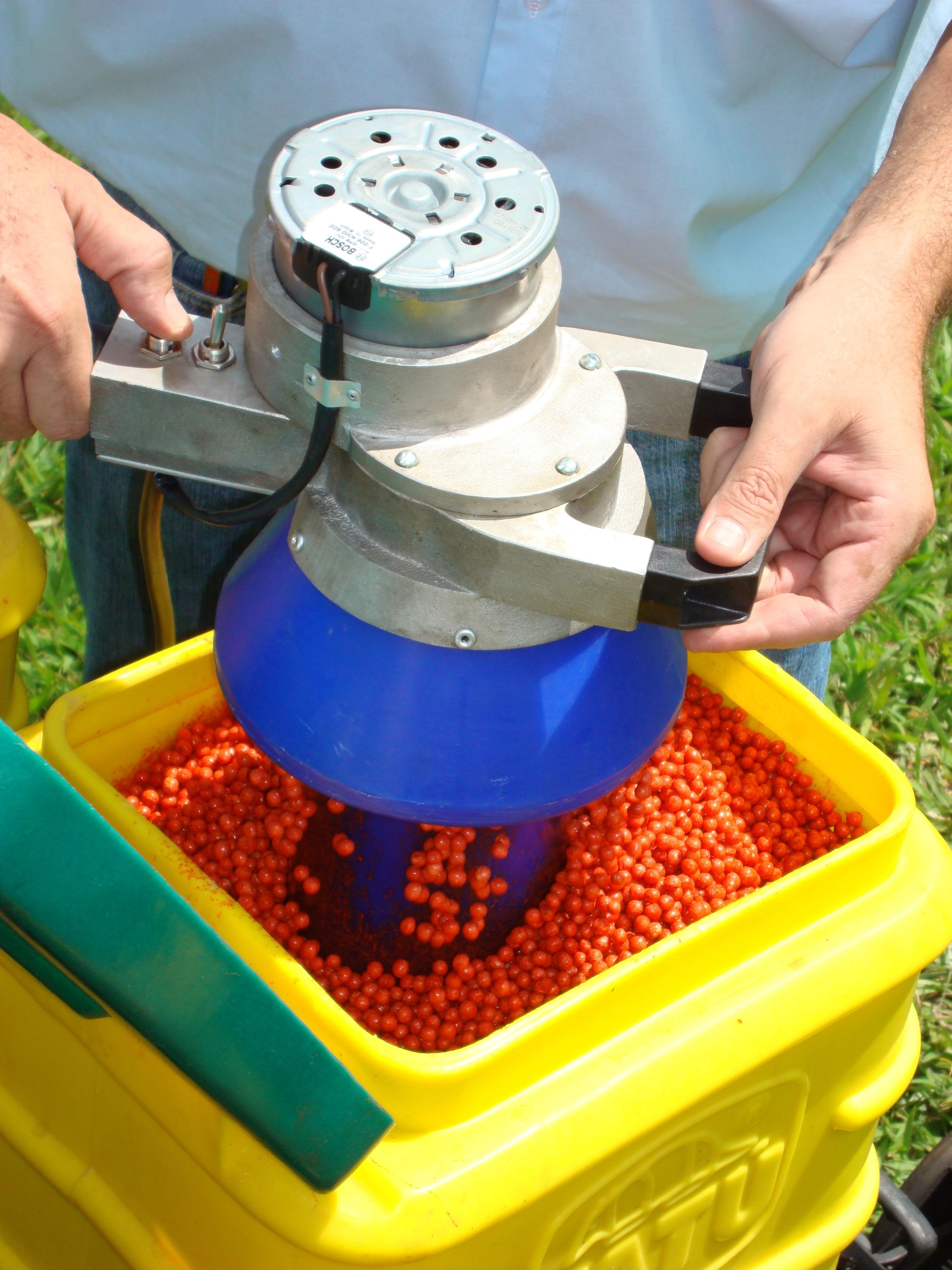 Mecmix: Trata semilla en la planta