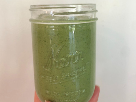 Stress Relieving Green Smoothie Recipe