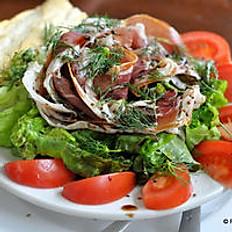 Prosciutto & Vine Tomato Salad