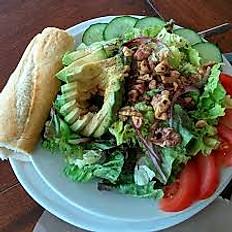 Avocado Walnut Salad