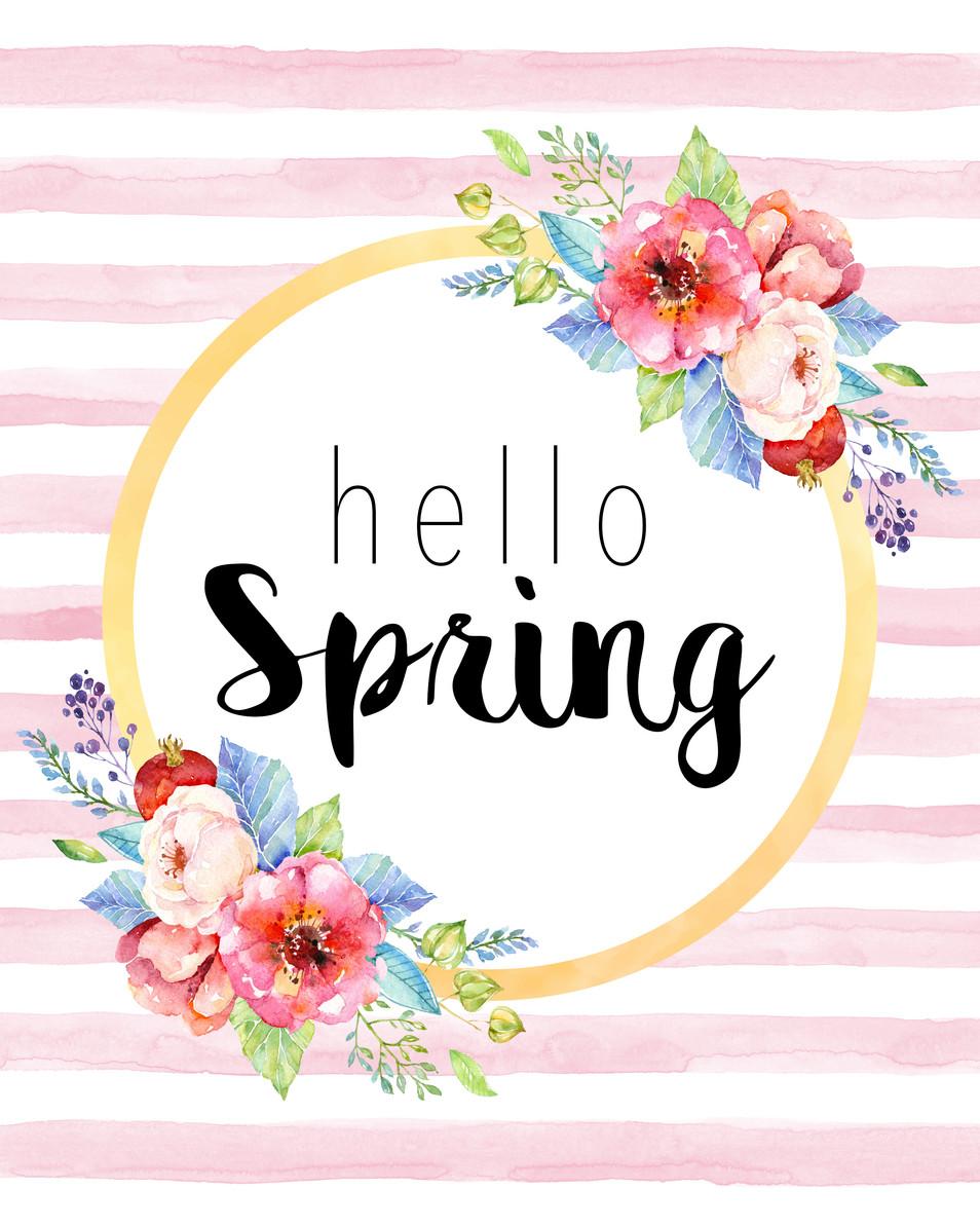 In Season Spring Flowers