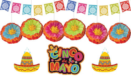 picture about Cinco De Mayo Printable Decorations identified as Cinco De Mayo Celebration Decorations - internal style and design guidelines