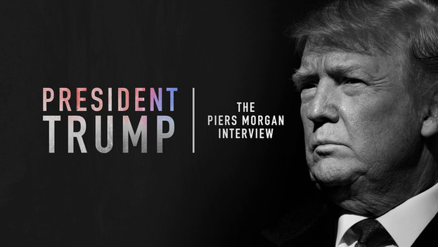 President Trump - The Piers Morgain Interview  Piers Morgan talks to Donald Trump In his first international interview since becoming US president. Broadcast via ITV1 at 10pm on Sunday 28th January 2018.   Cut on Avid at ITV Studios, Southbank, London.