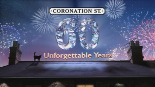 Coronation Street: 60 Unforgettable Years   This special explores the legacy of the world's longest-running soap opera. Coronation Street: 60 Unforgettable Years is a special celebrating the diamond anniversary of Britain's favourite soap.  We'll hear never heard before secrets from the show's stars - from first audition nerves, to fallouts, to memorable location shoots, to remembering their special memories of the storylines that gripped the nation.  Giggles and gaffes, jaw-dropping moments unseen for decades as Coronation Street: 60 Unforgettable Years tells the story of how  this treasured soap has become a national institution.  Narrated by Joanna Lumley OBE and featuring Michelle Keegan, Julie Hesmondalgh, William Roach, Barbara Knox, David Neilsen, Lorna Laidlaw, Simon Gregson, John Thomson, Sally Dynevor, Michael Le Vell, Alexandra Mardell, Jack P Shepherd, Jimmi Harkishin, Alan Halsall, Jennie McAlpine, Tina O'Brien and a host of other Coronation Street stars.