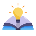 ingenuity_wit_book_idea_light_bulb_learn_learning_icon_149691.png
