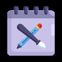 calendar_school_pencil_brush_art_icon_149692.png