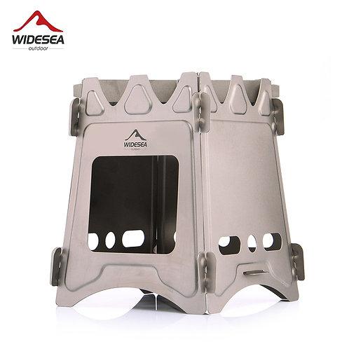 Widesea Portable Wood Stove Portable (Titanium)