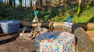 A beautiful morning for a cosy camp