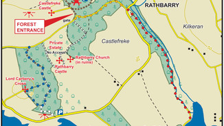 Castlefreke Map
