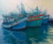 Marina, Ban Phe, Thailand, Fei Lu Art