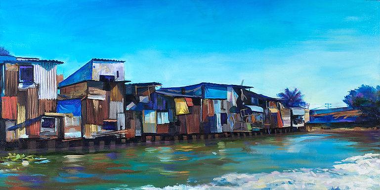 Colourful Mekong, Mekong Delta, Vietnam, Fei Lu Art