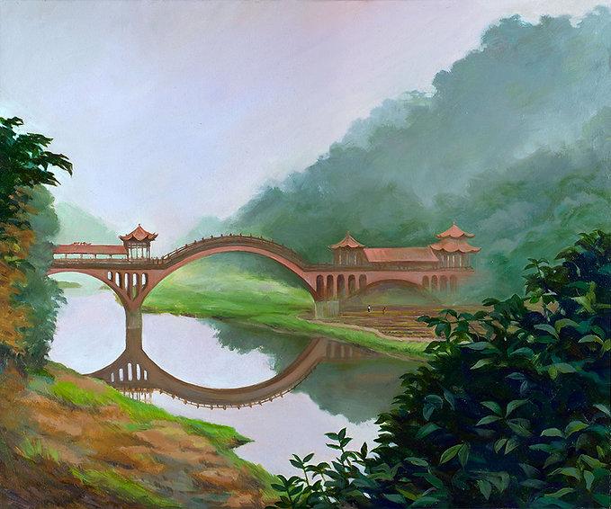 Fantasy Farm, Sichuan China, Fei Lu Art