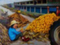Apple or Corn, Nanyang, China, Fei Lu Art