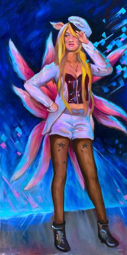 Popstar Ahri, the Nine Tailed Fox