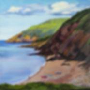 Cabot Trail Cliffs, Nova Scotia - Fei Lu Art