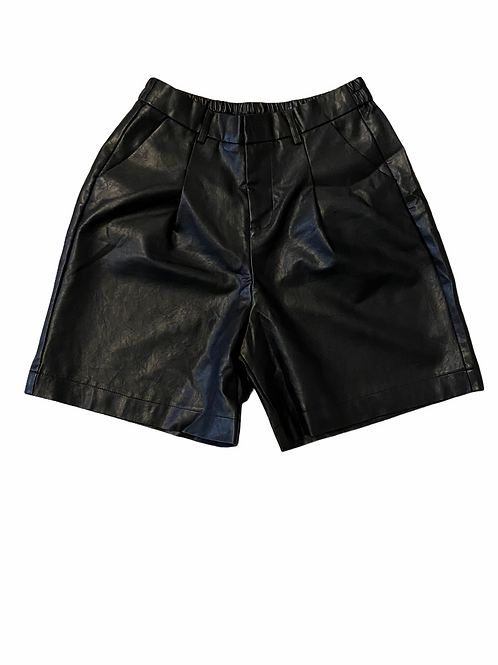 Leather Shorts