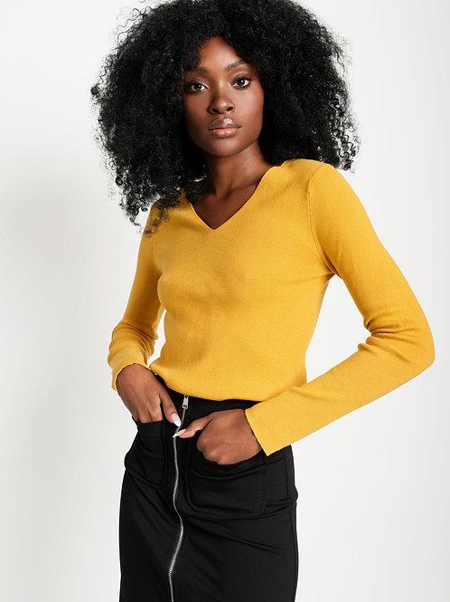 Elizabeth V Neck Sweater