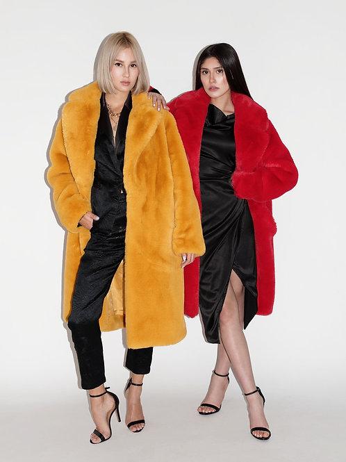 Runway Fur Coat