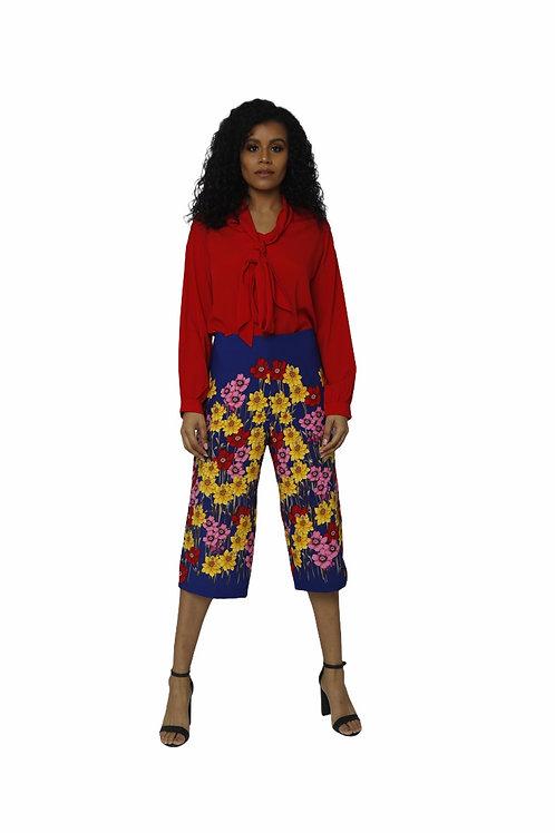 Paddle Floral Pants