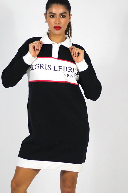 Rugby Sweater Dress