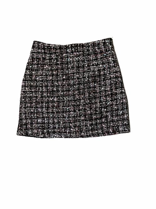 Summer Tweed Wrap Skirt