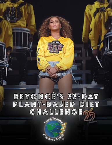 Beyonce 22-Day Diet E-BOOK