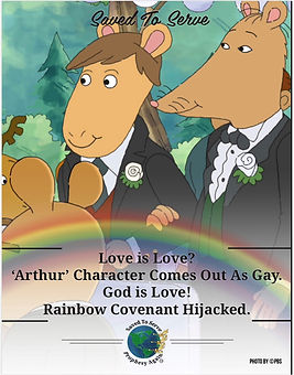 'Arthur' God is Love_ Rainbow Covenant H