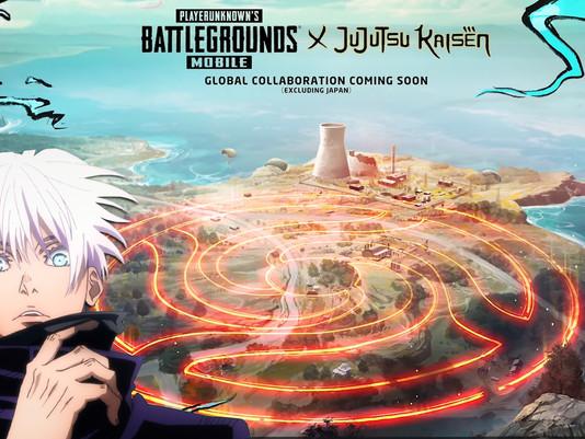 PUBG Mobile Meets Jujutsu Kaisen in Announced Collab
