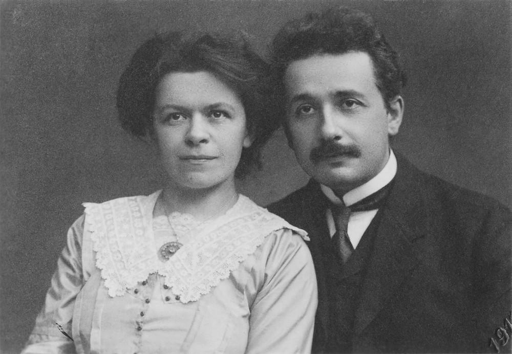 Mileva and Albert Einstein