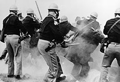 Bloody Sunday attack on peaceful protestors, 1965