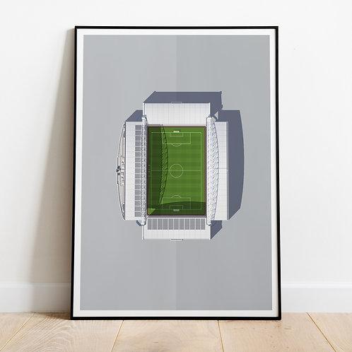 Wigan Athletic DW Stadium Print